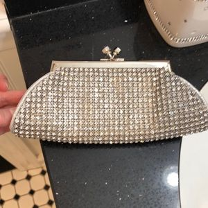 Handbags - Crystal Evening Clutch.